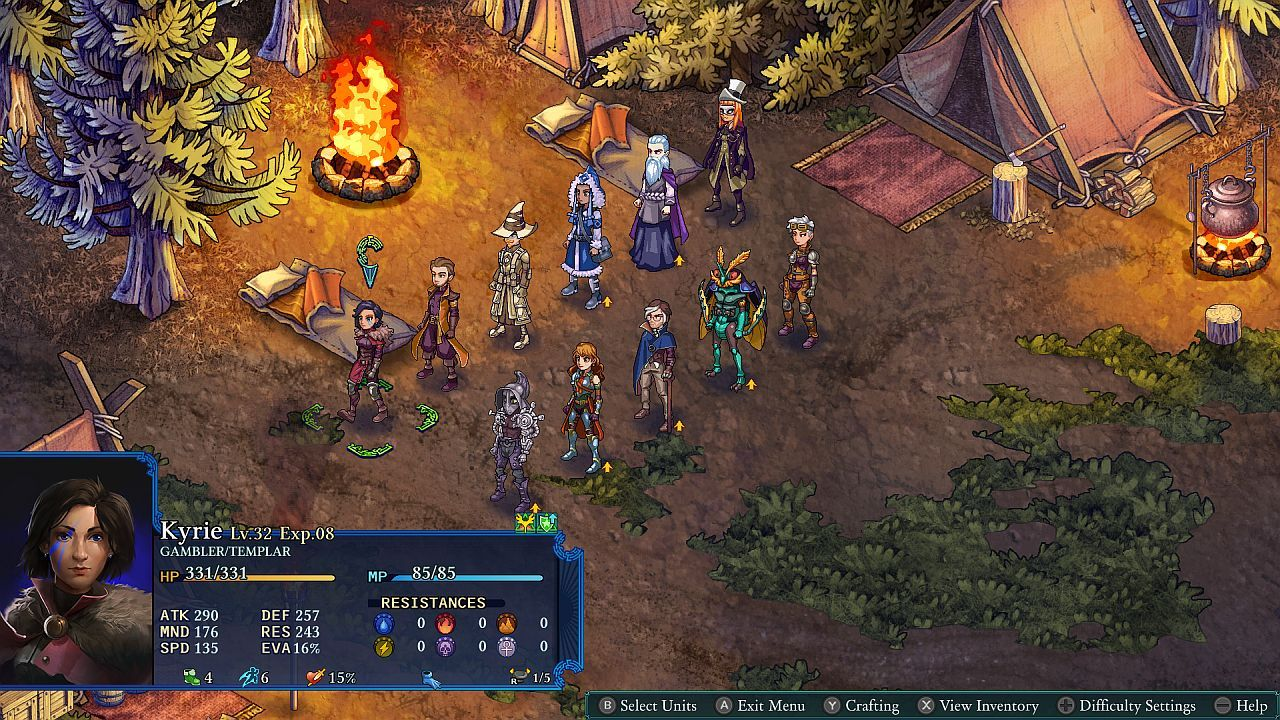 Fantasy Tactics RPG Fell Seal: Arbiter's Mark is now Available on Switch