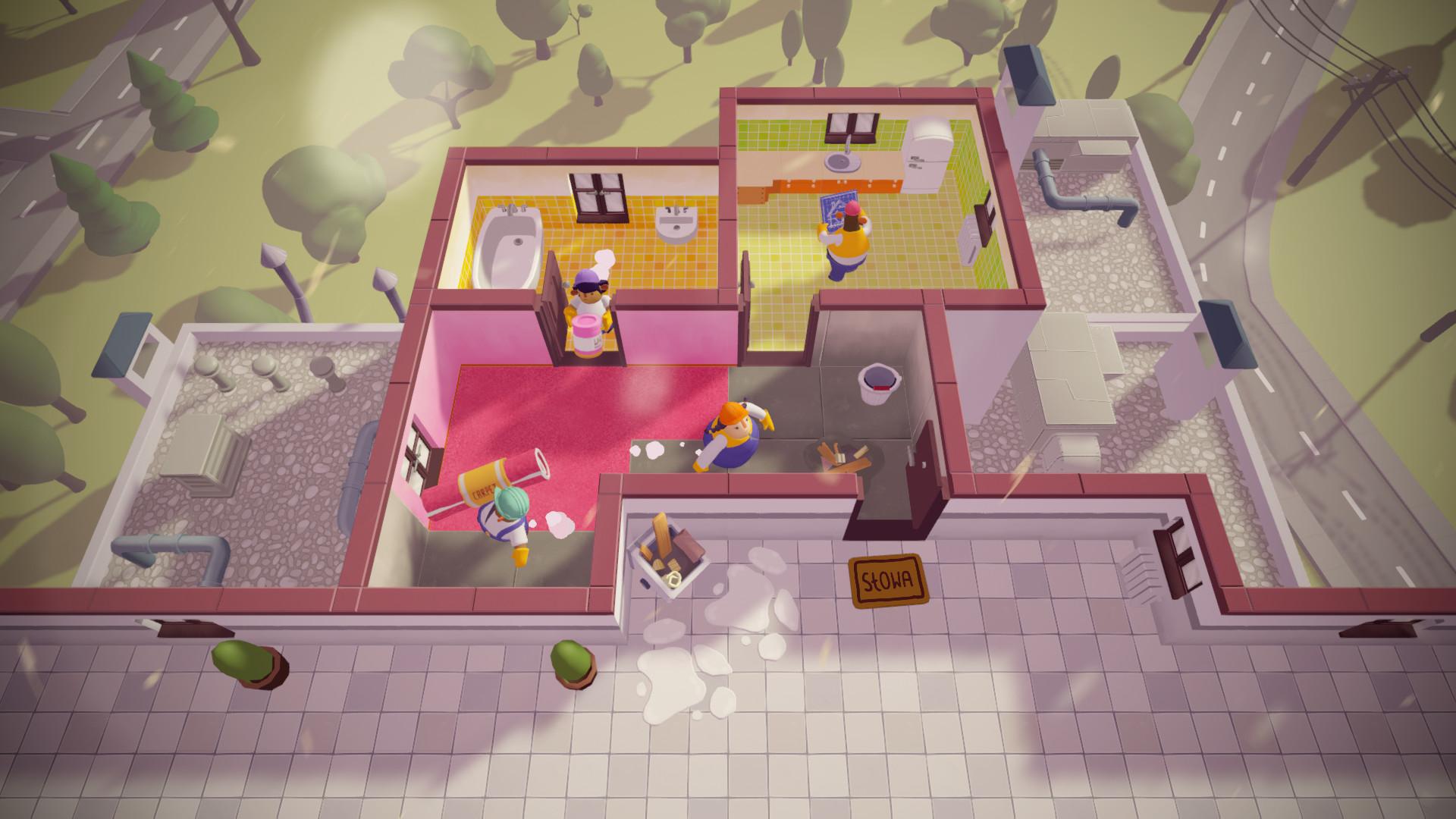 Couch co-op action Tools Up! gets a new trailer, available to play at Gamescom