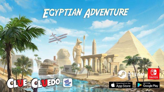 An Egyptian Adventure Awaits in the new Clue theme