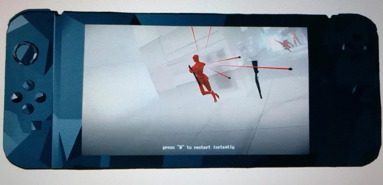 Superhot dev explains the European trailer goof, says the gameplay footage was 'absolutely recorded' on Switch