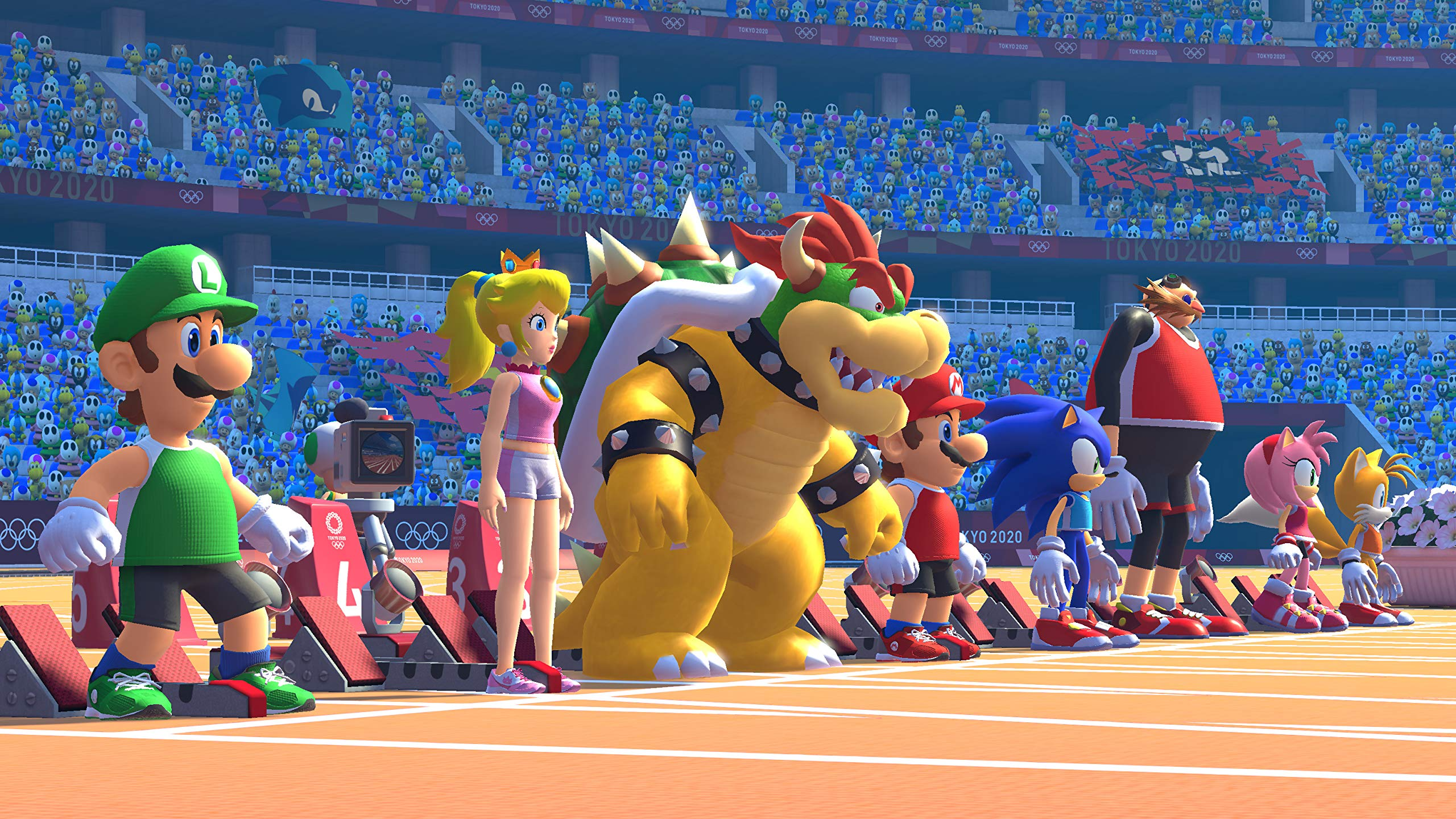 SEGA accidentally shares the full Mario & Sonic at the Tokyo 2020 Olympic Games roster