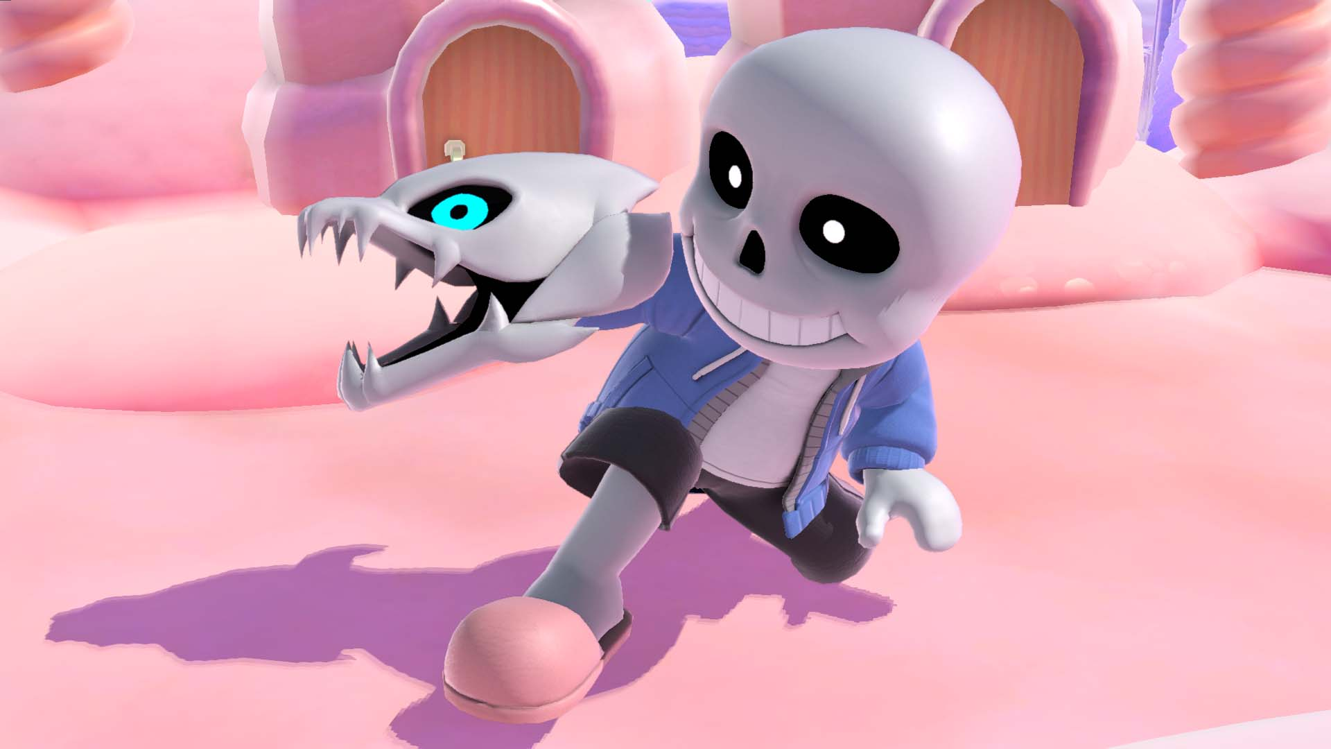 Toby Fox comments on Undertale's Sans getting a Mii costume in Smash Bros. Ultimate, meeting with Sakurai