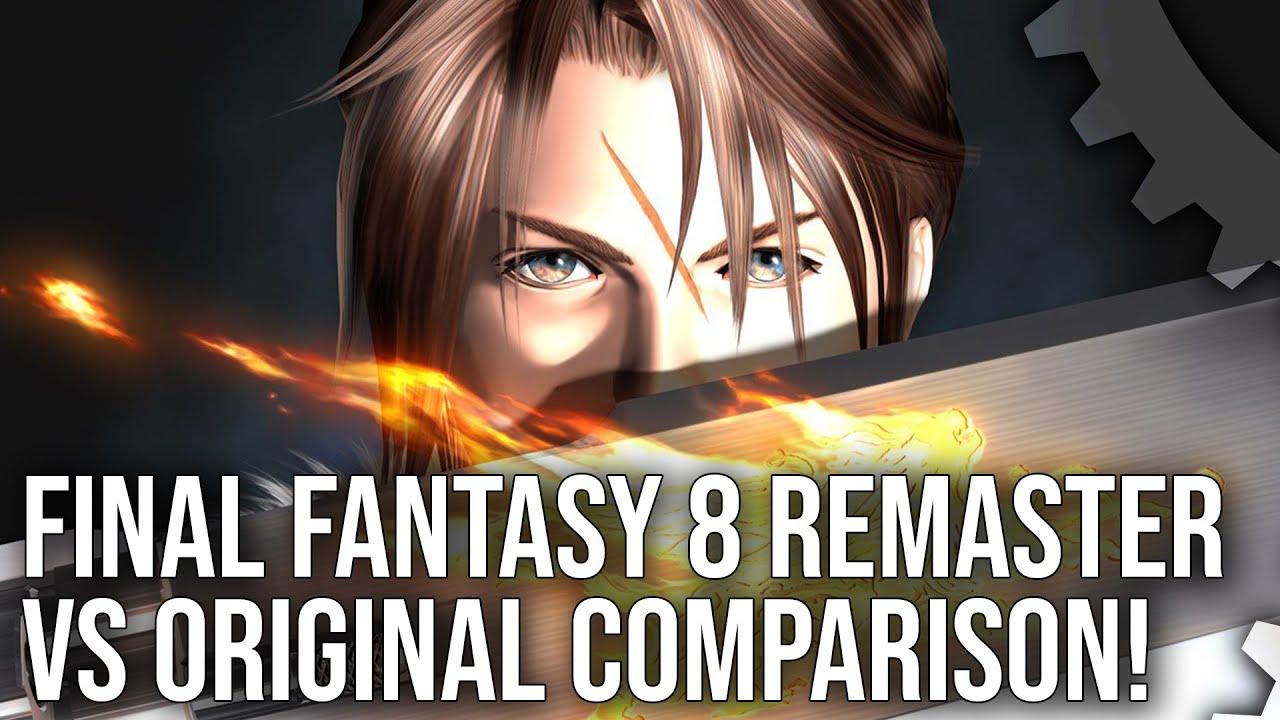 Digital Foundry - Final Fantasy 8 Remastered vs Original Comparison