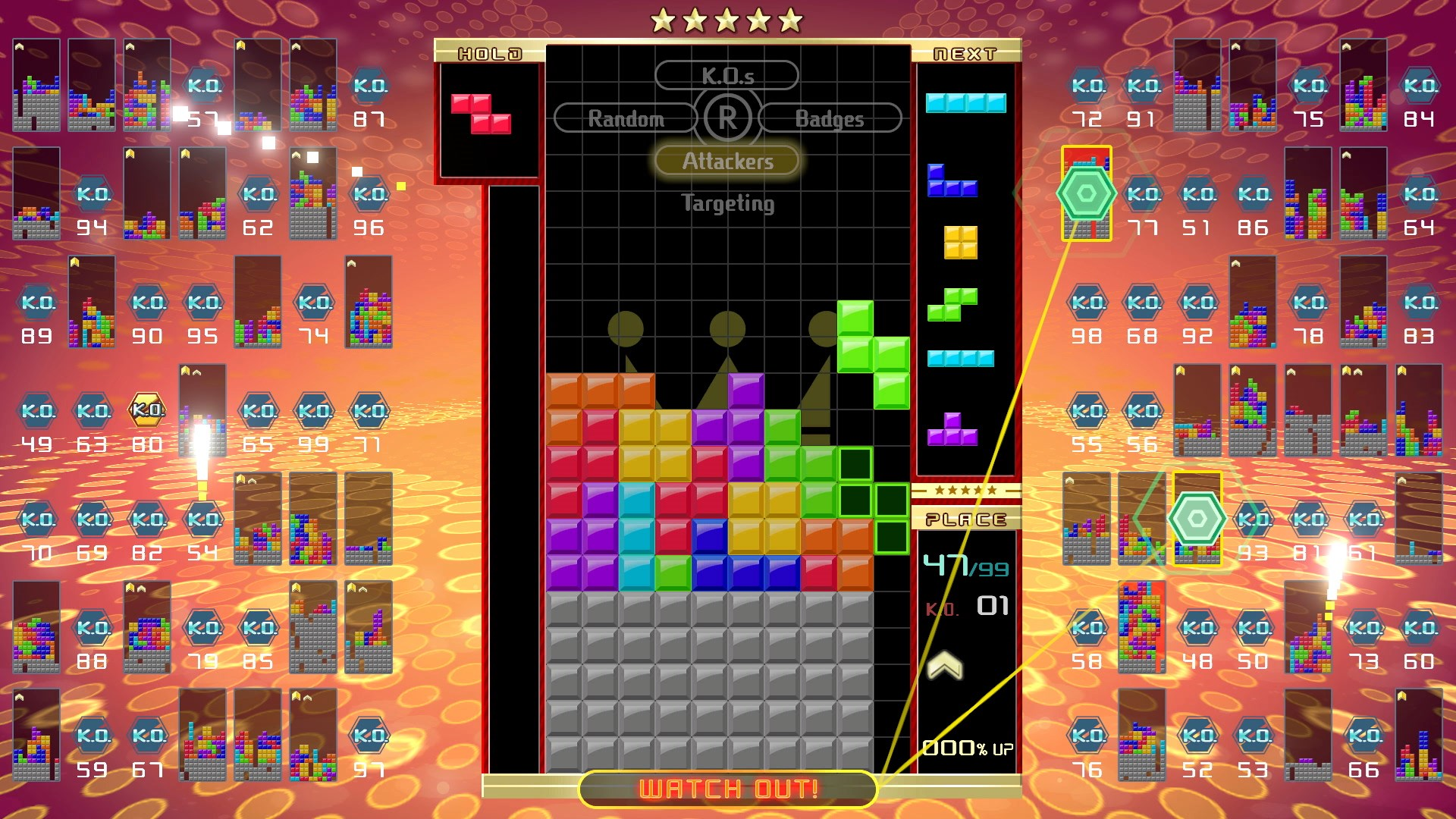 Tetris 99 updated to Ver. 2.0.0, full patch notes available