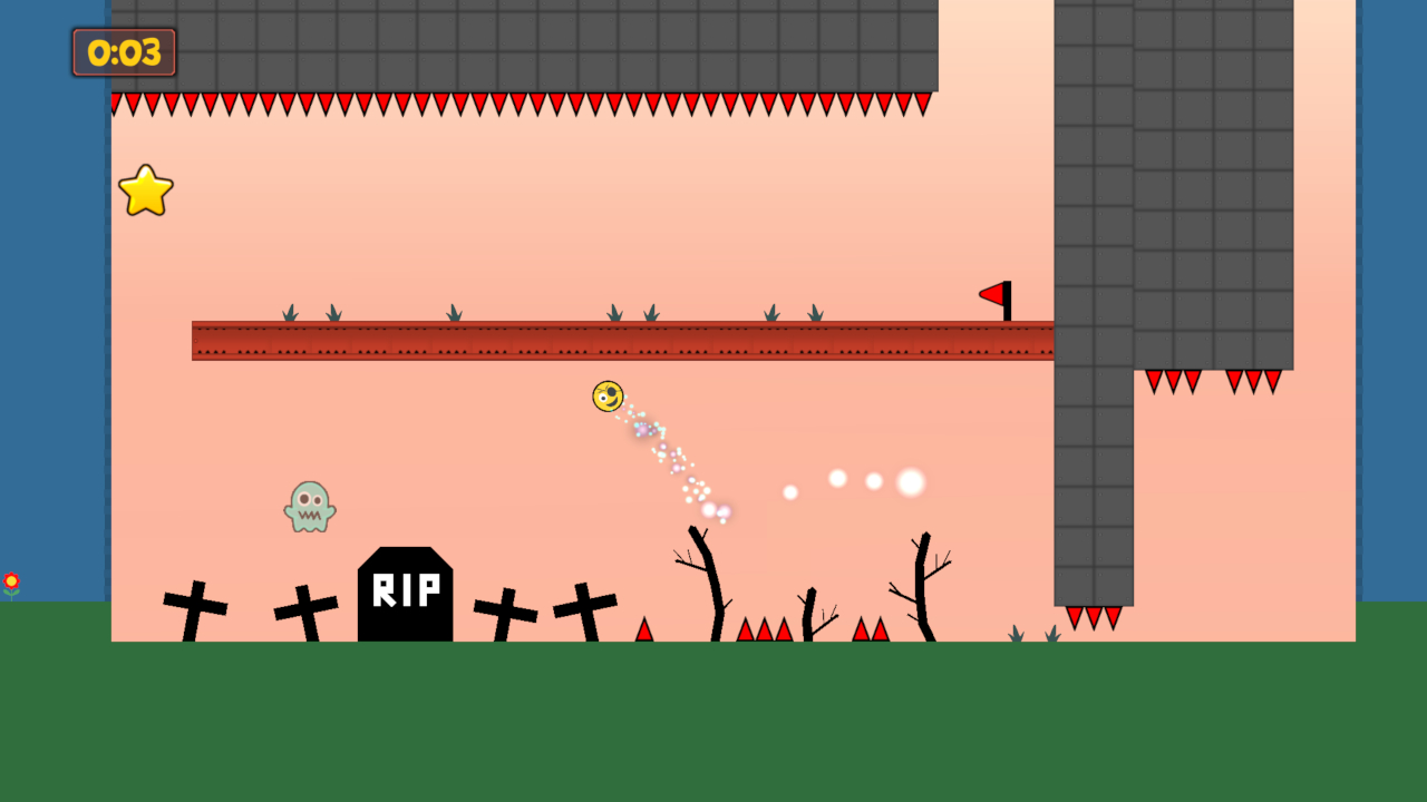 Super Jumpy Ball launches today on Switch