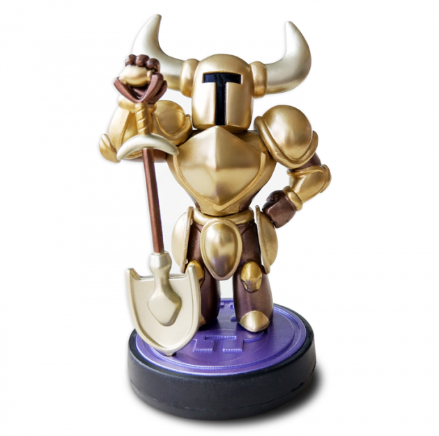 Yacht Club shares official details on the Shovel Knight Gold Edition amiibo