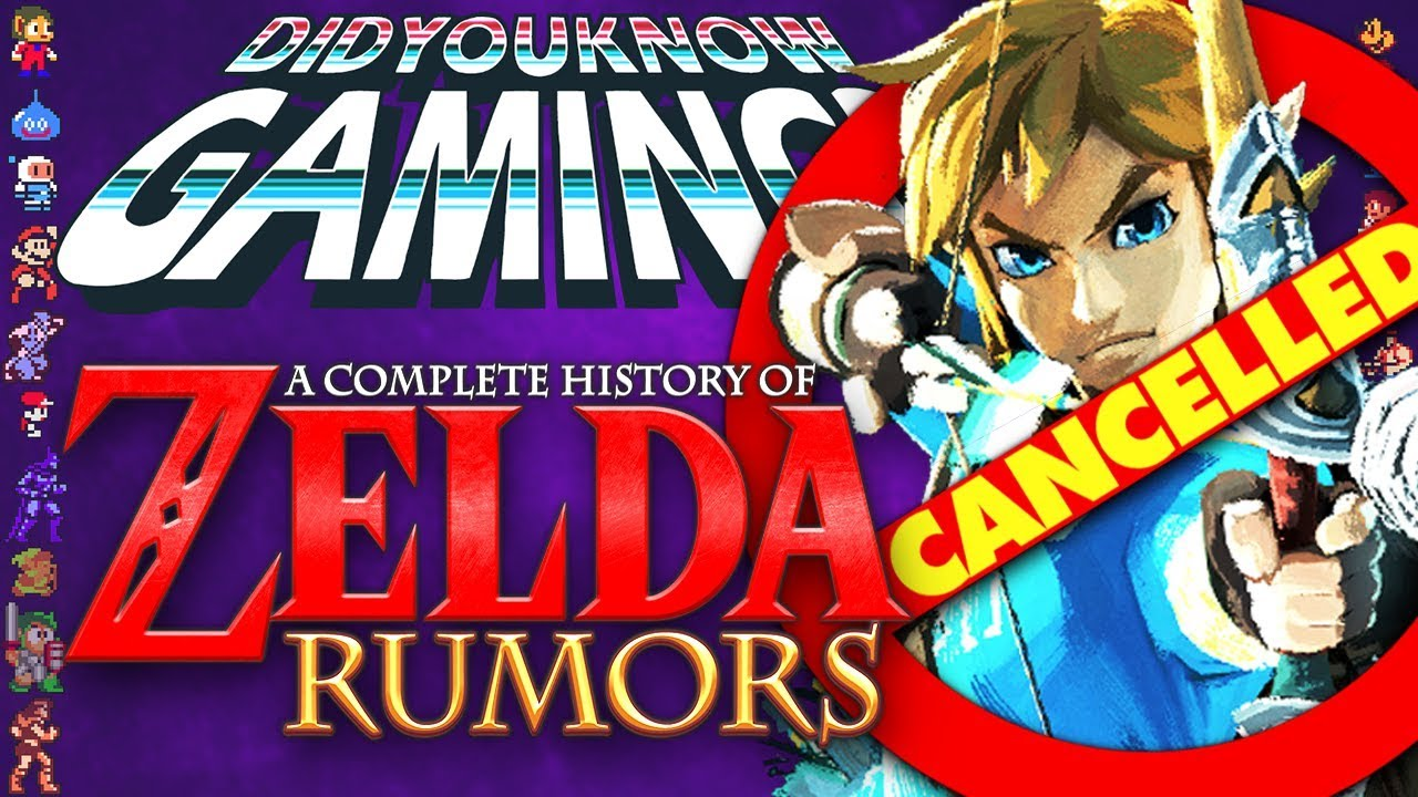 Did You Know Gaming - A Complete History of Zelda Rumors
