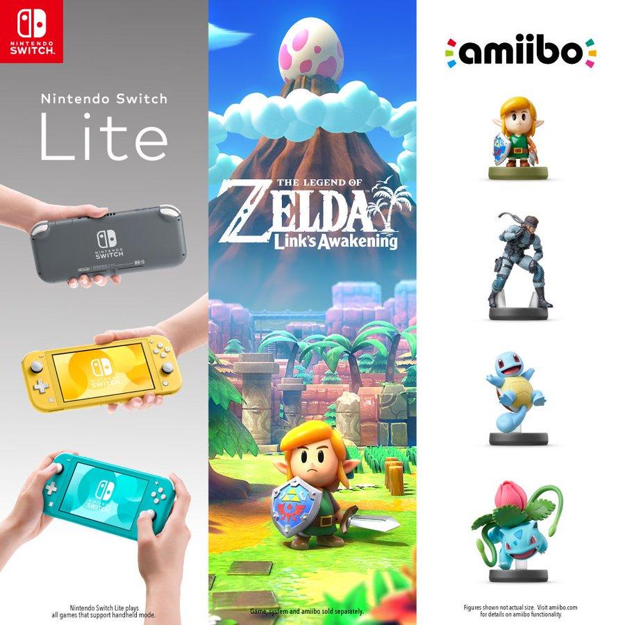 Nintendo NY hosting a Legend of Zelda: Link's Awakening/amiibo/Switch Lite midnight launch event on Sept. 20th, 2019