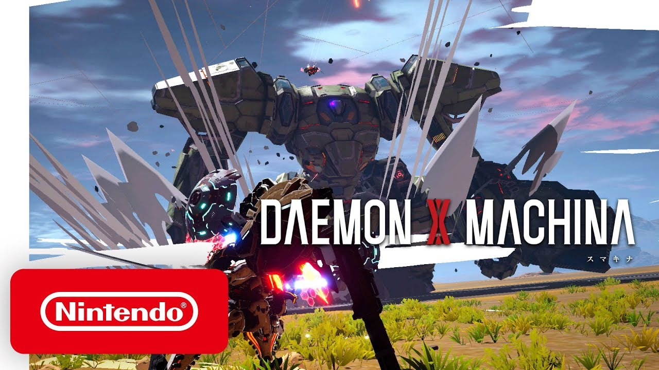 Suit up, Reclaimers! DAEMON X MACHINA is now available