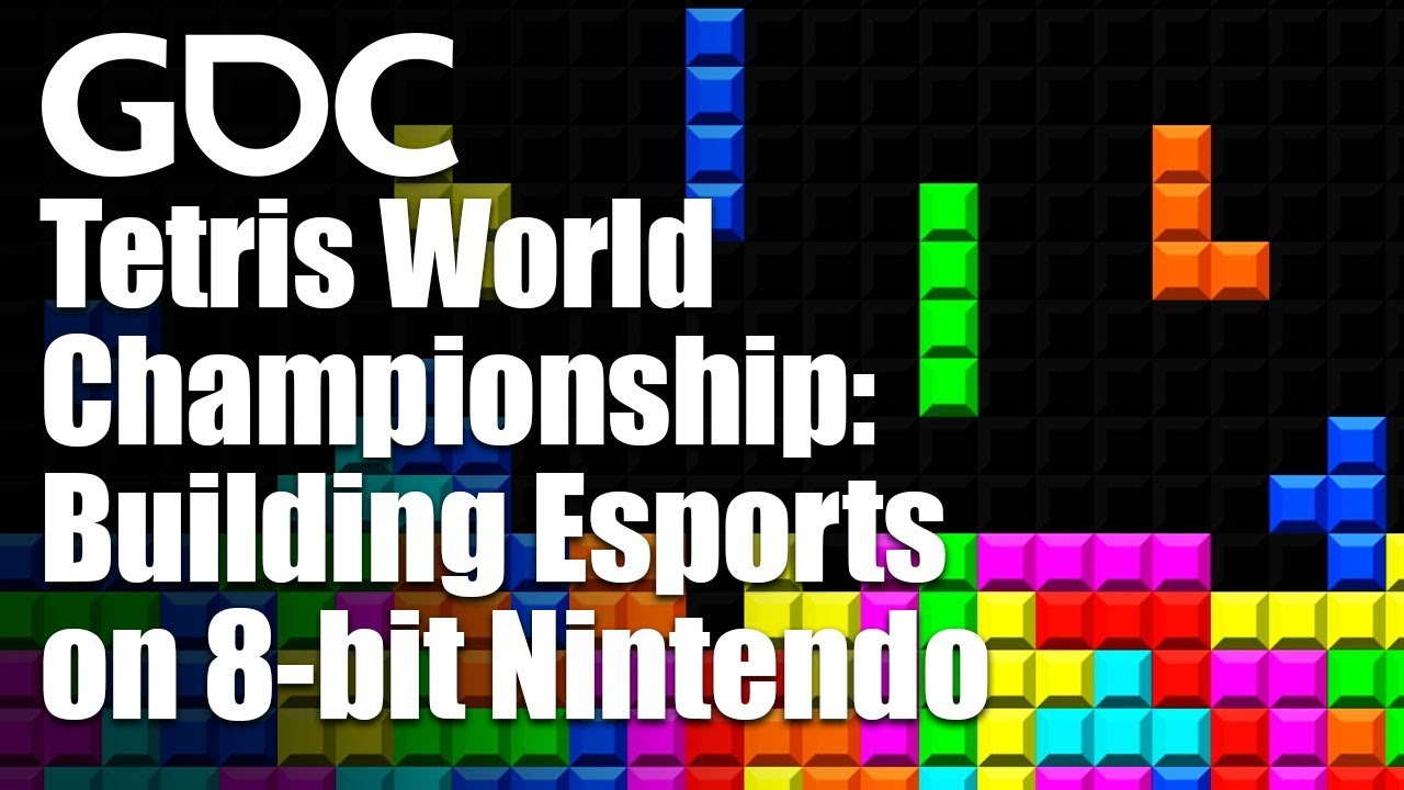 GDC 2019 full panel - Tetris World Championship: Building Explosive Esports on 8-bit Nintendo