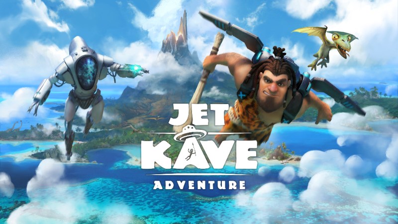 Fuel your jetpacks! Jet Kave Adventure, an exclusive 2.5D platformer, now available on Switch