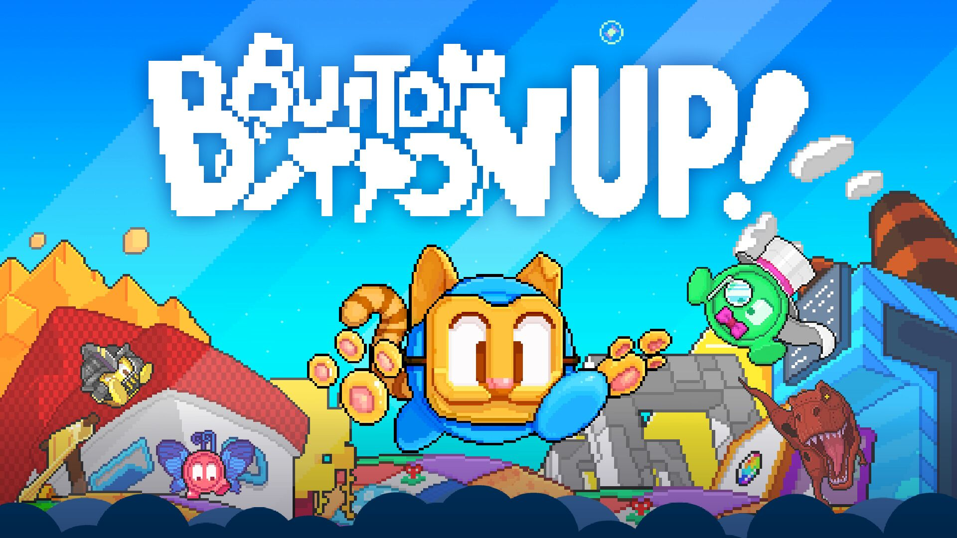 Button Button Up arrives on Switch on Sept. 26th, 2019