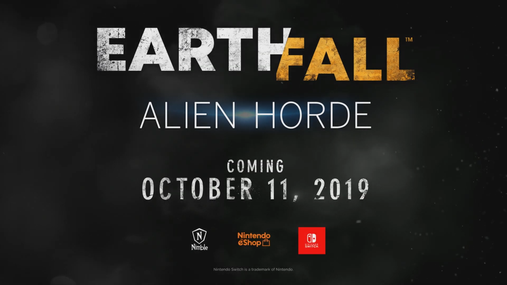 Earthfall: Alien Horde announced for Switch, launching October 11th