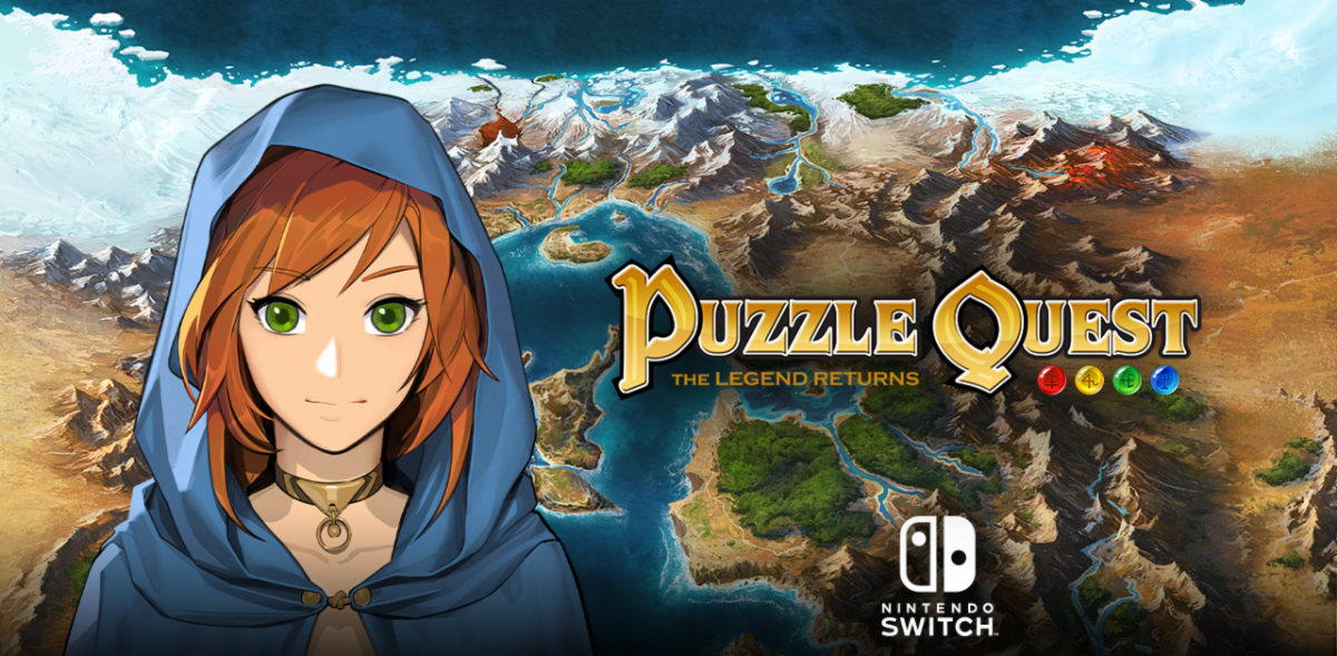 Puzzle Quest: The Legend Returns Launches Today, Exclusively for the Switch