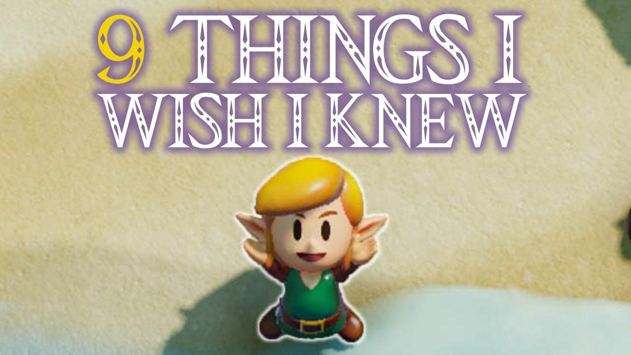 GameSpot Video - 9 Things I Wish I Knew Before I Started Zelda: Link's Awakening