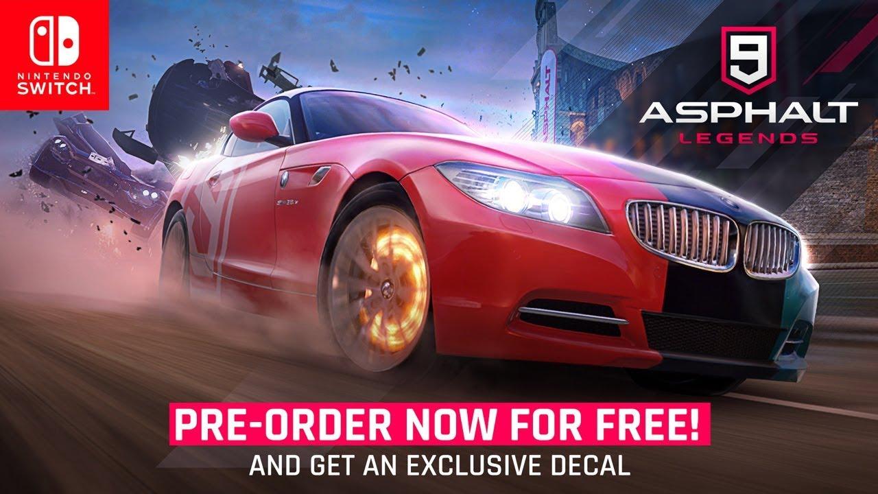 Asphalt 9: Legends gets a 'Preorder' trailer