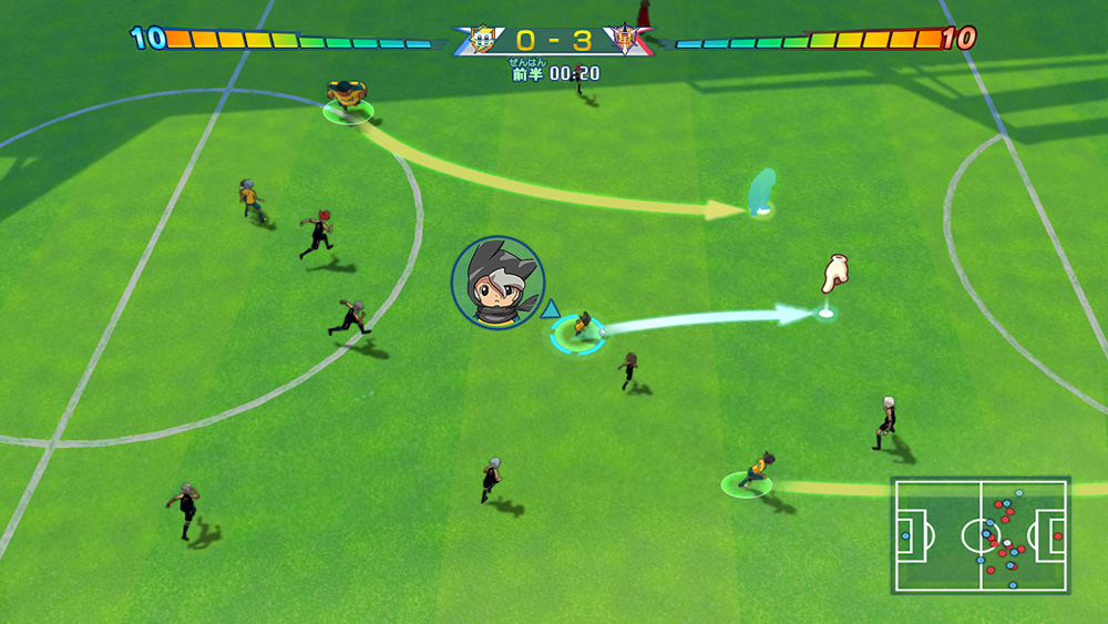 inazuma eleven great road of heroes 3ds