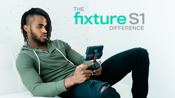 IndieGoGo campaign launched for the Fixture S1, an accessory that lets you play with your Pro Controller in handheld mode