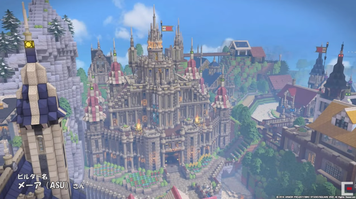 Square-Enix shows off various Dragon Quest Builders 2 fan-made creations