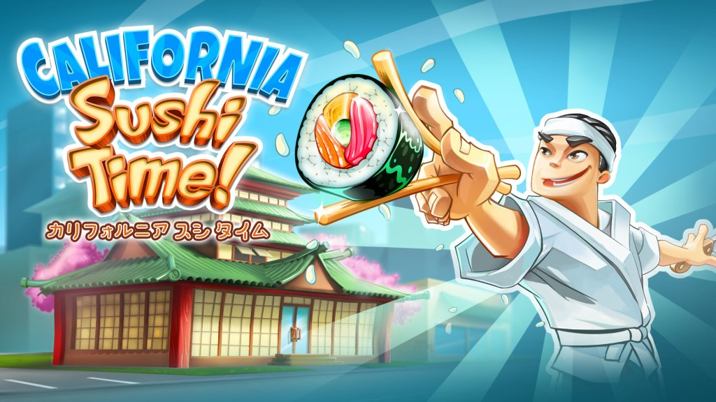 California Sushi Time now available on Japanese eShop