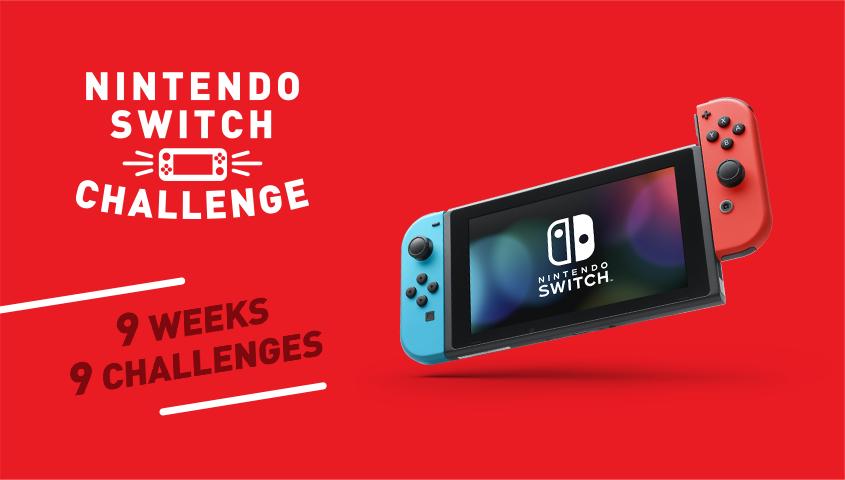 Nintendo UK announces the Nintendo Switch Challenge