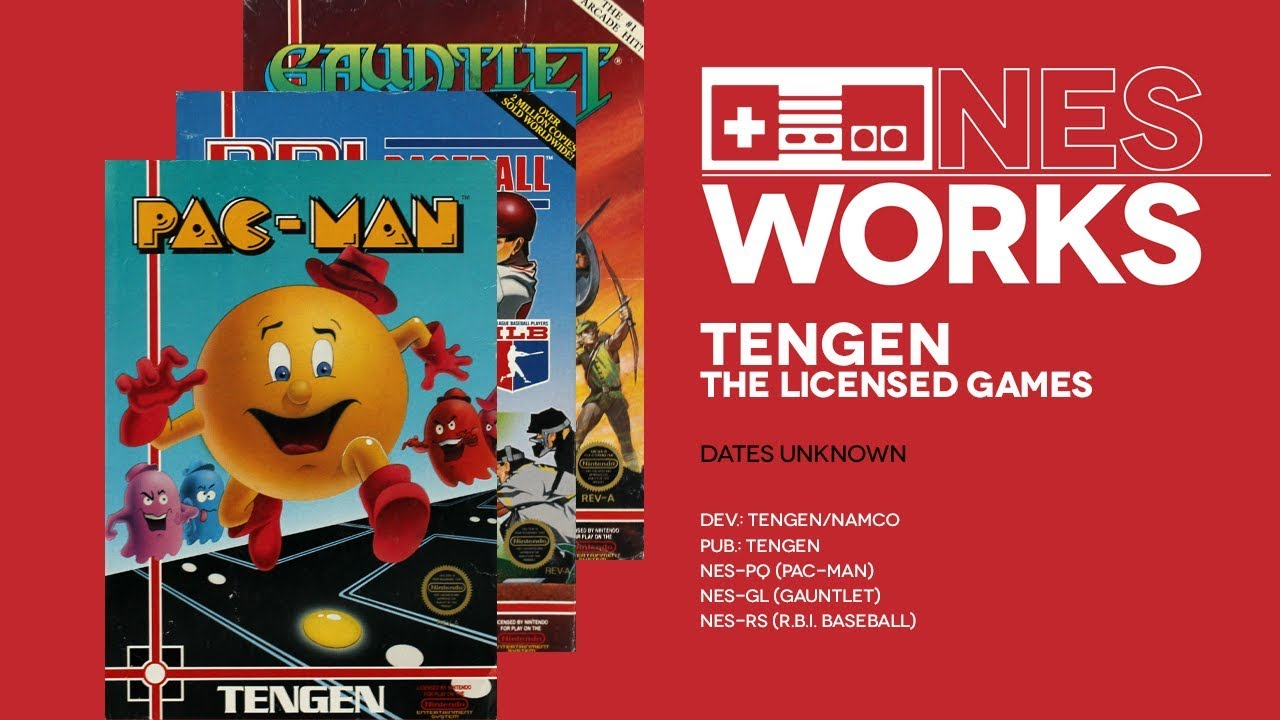 Jeremy Parish's NES Works #53 - Gauntlet, Pac-Man and R.B.I. Baseball
