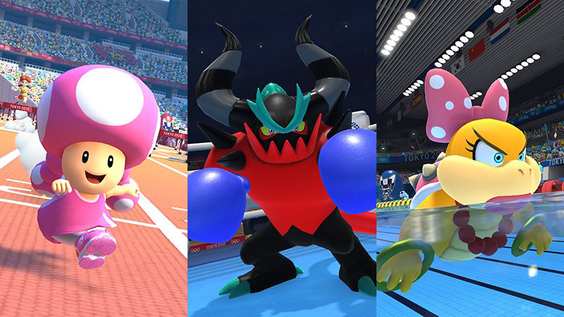 Mario & Sonic at the Tokyo 2020 Olympic Games gets three more guest characters