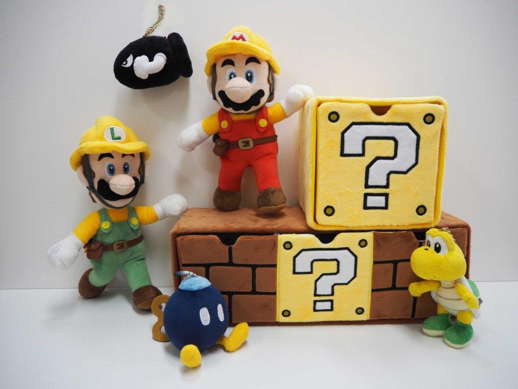 San-ei Boeki releasing Super Mario Maker 2 plush doll series