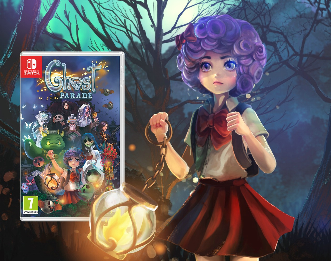 Ghost Parade creeps onto the Switch this November