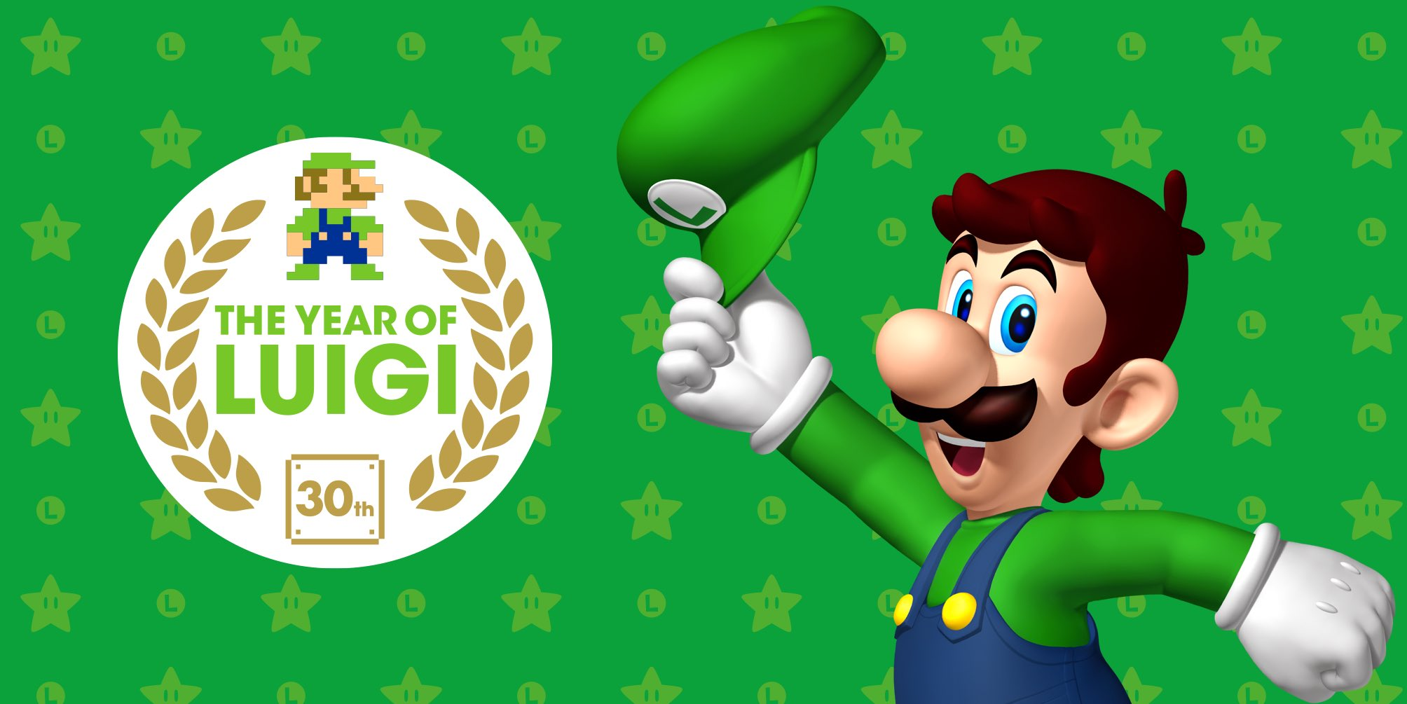 Random Time! - Official Super Mario UK Twitter account reminds us of 2013, The Year of Luigi