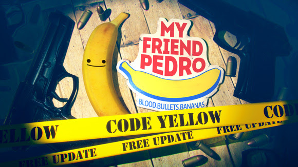 My Friend Pedro's free 'Code Yellow' update available today, full game 30% off