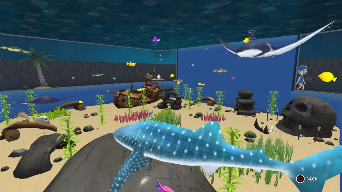 Megaquarium available today on Switch