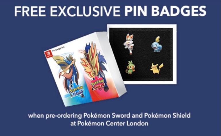 Pre-order Pokémon Sword & Shield from Pokémon Center