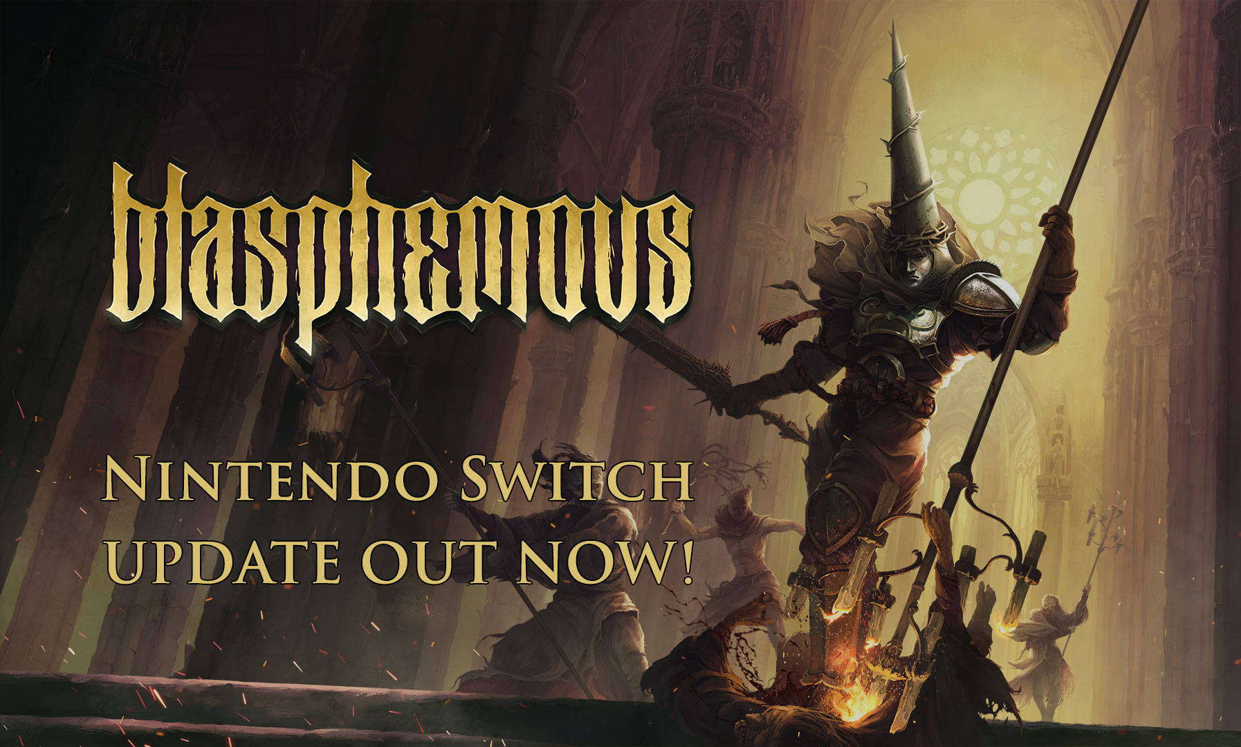 Update announced for Switch version of 'Blasphemous', full patch notes released, adds Russian and Portuguese language support
