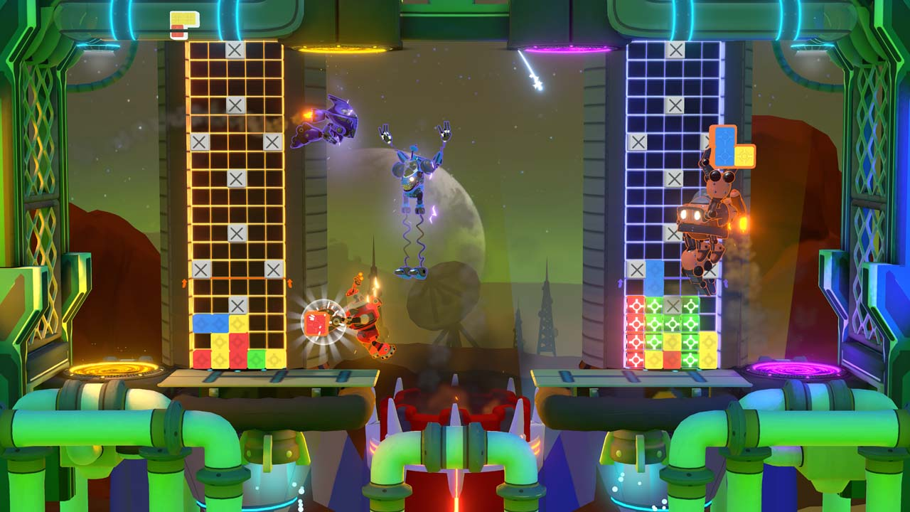 StarBlox, Inc., the puzzle brawler in space, blasts its way to Switch today