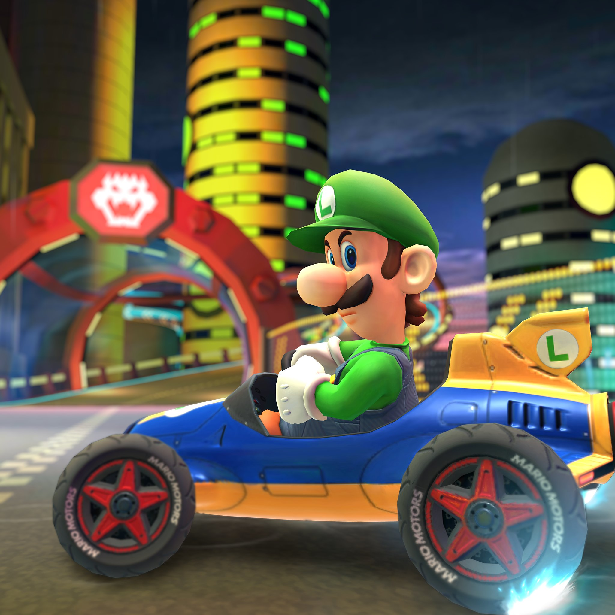 Luigi makes his way to Mario Kart Tour, just in time for the Halloween Cup