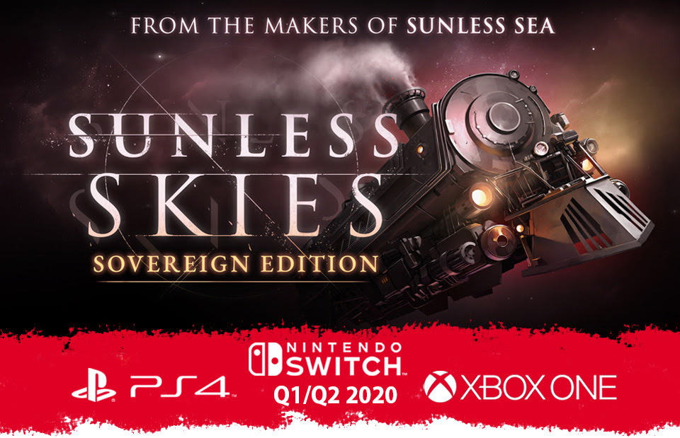"""Gothic horror title """"Sunless Skies: Sovereign Edition"""" coming to Switch"""