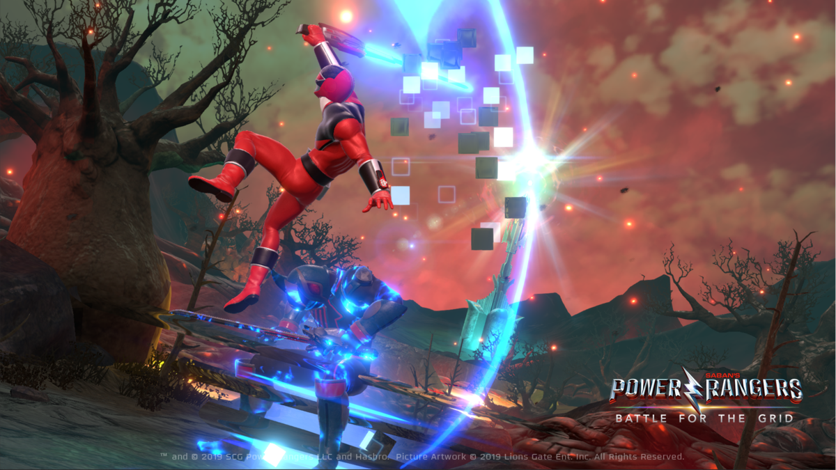 Power Rangers: Battle for the Grid updated to Version 1.6, Eric Myers (Quantum Ranger) trailer released