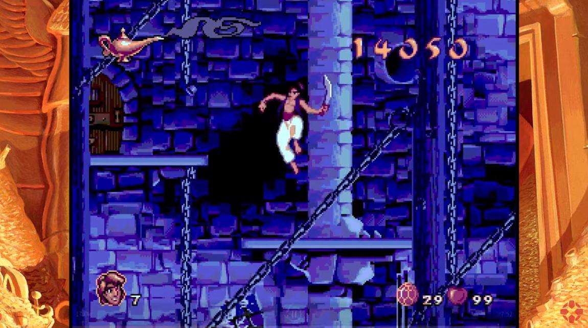 IGN Video - Disney Classic Games: Genesis Aladdin's 'Final Cut' Mode Gameplay (Perfect Playthrough)