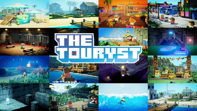 The Touryst - game file size revealed as 204MB