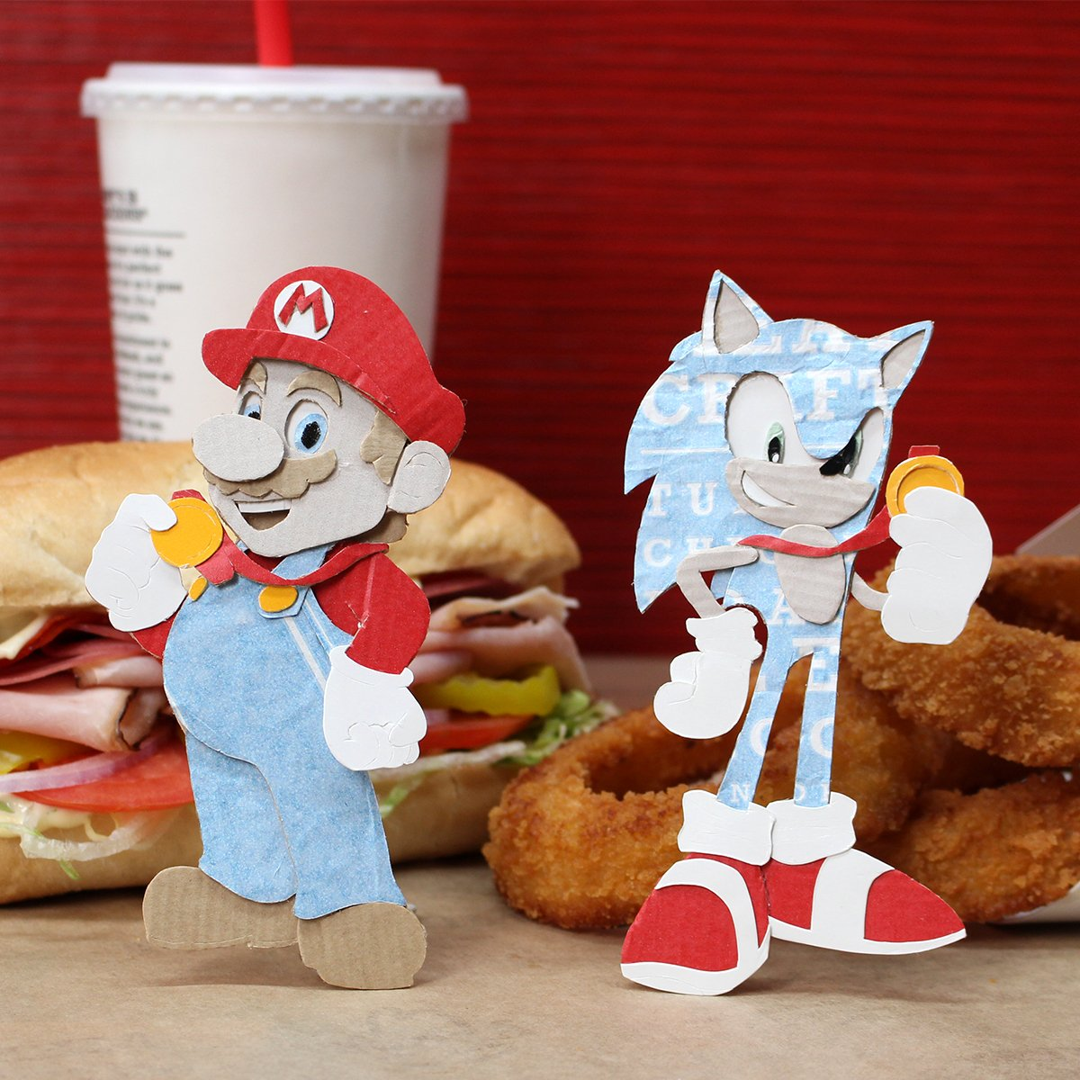 Arby's celebrates the release of 'Mario & Sonic at the Olympic Games Tokyo 2020'
