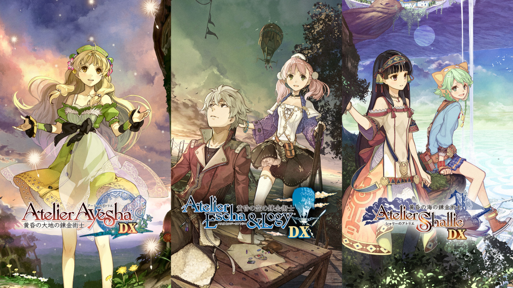 Preloading available on Japanese eShop for 'Atelier Dusk Trilogy DX', games also sold separately