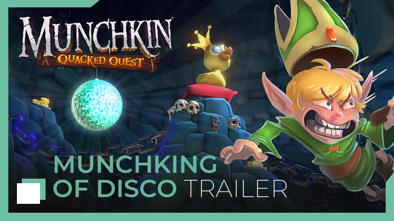 Asmodee Digital Reveals New Munchking of Disco Trailer For Munchkin: Quacked Quest
