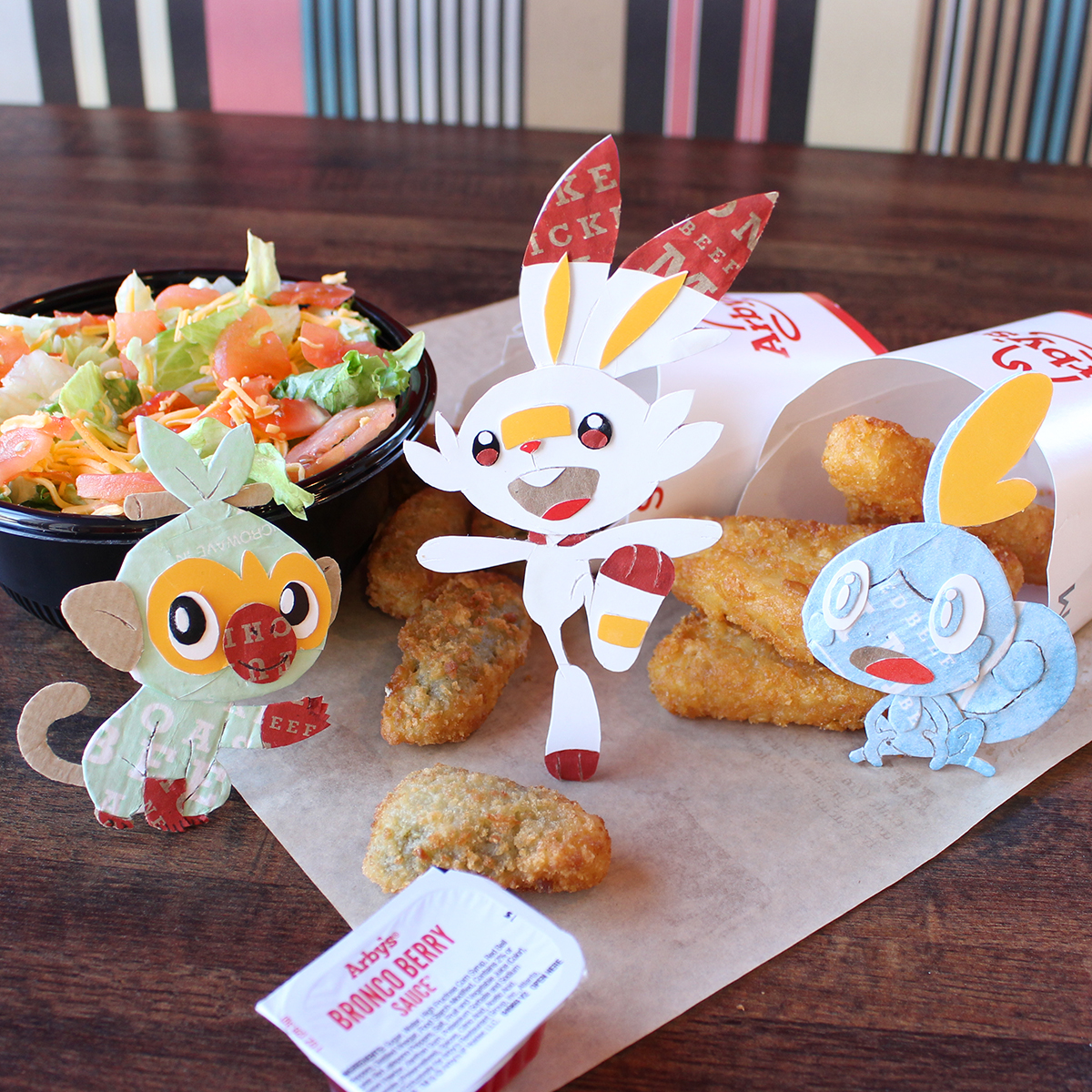 Companies celebrate the release of 'Pokemon Sword and Shield' (Atlus, Bethesda, Arby's, Hulu, & more)