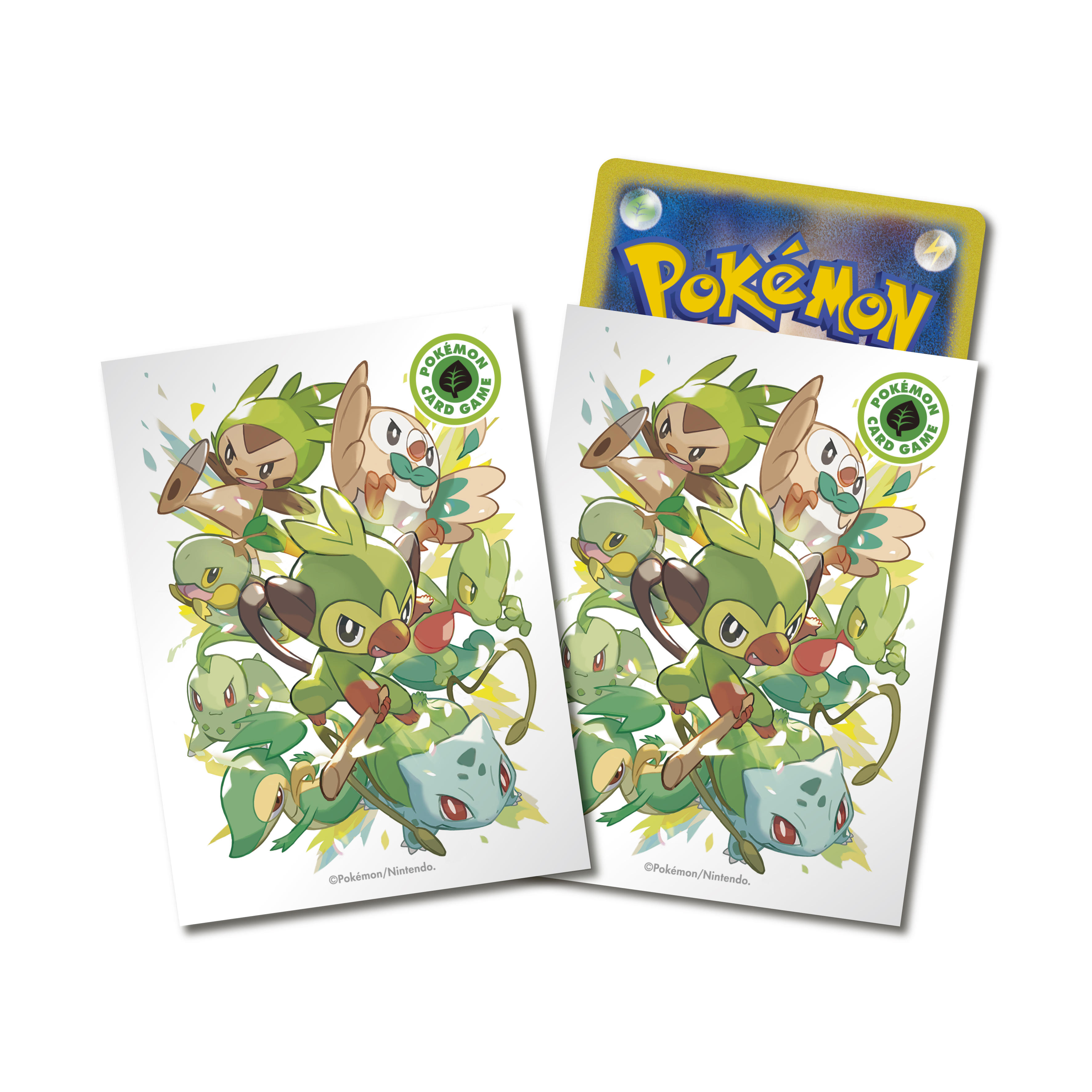 Pokemon Co. releases Pokemon TCG card sleeves featuring Pokemon Sword and Shield starters