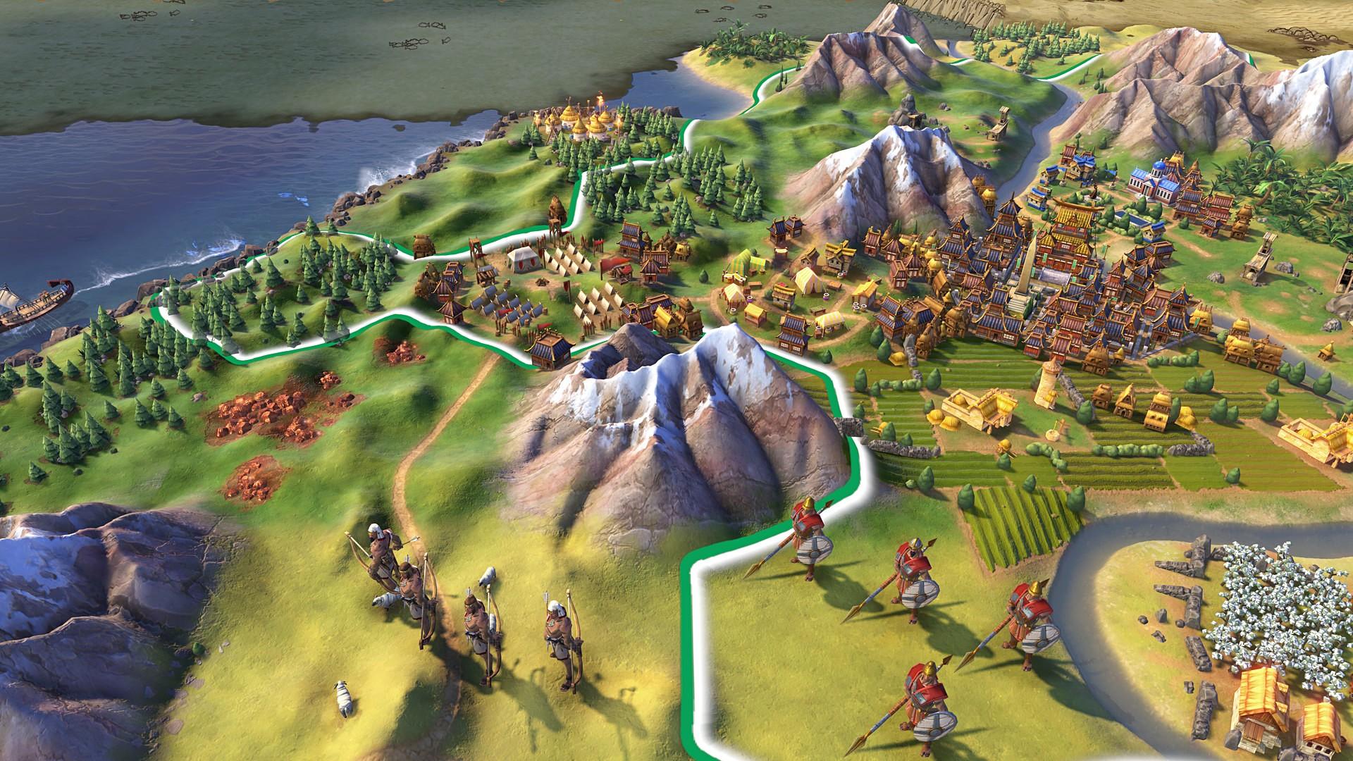 Civilization VI updated to Version 1.2.1