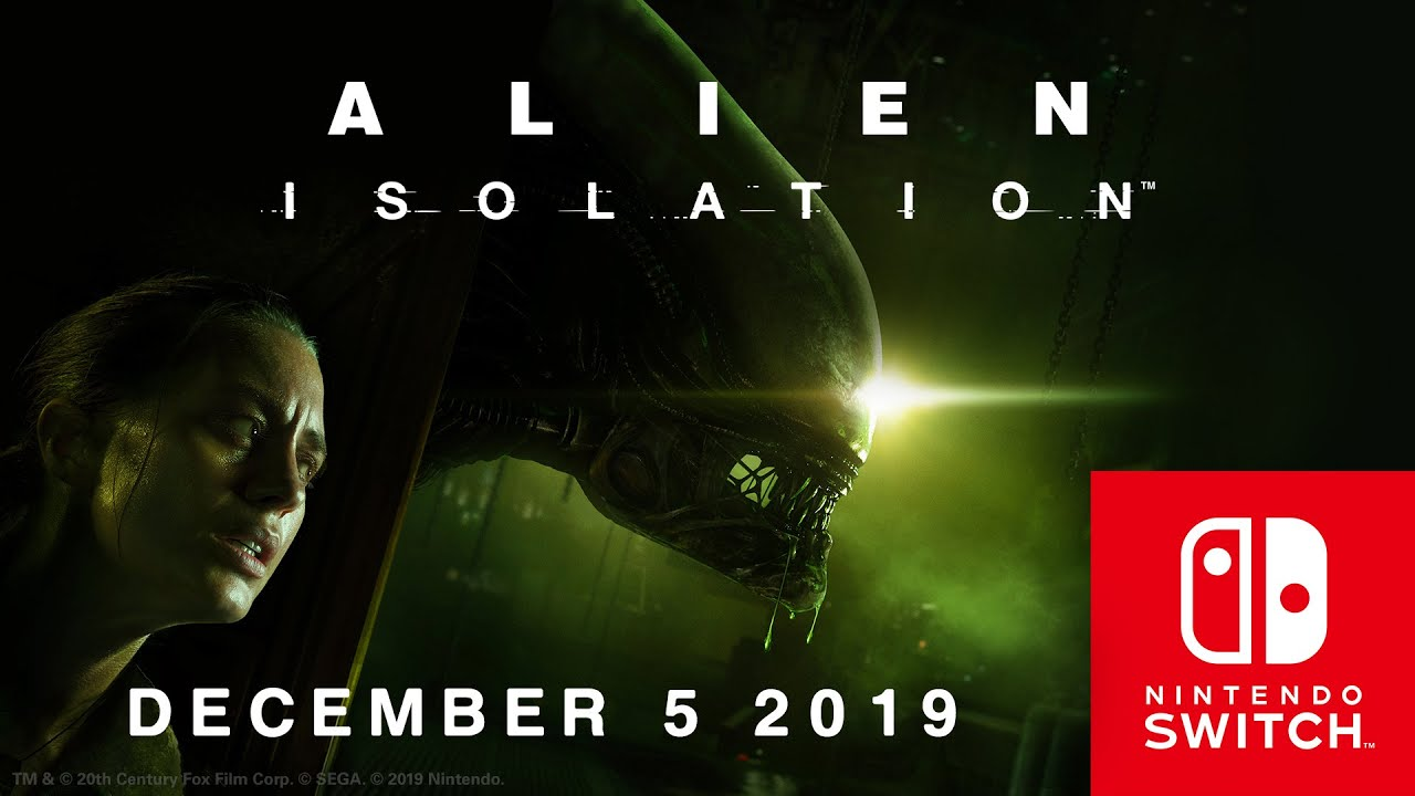 Alien: Isolation Coming to Switch on Dec. 5th, 2019