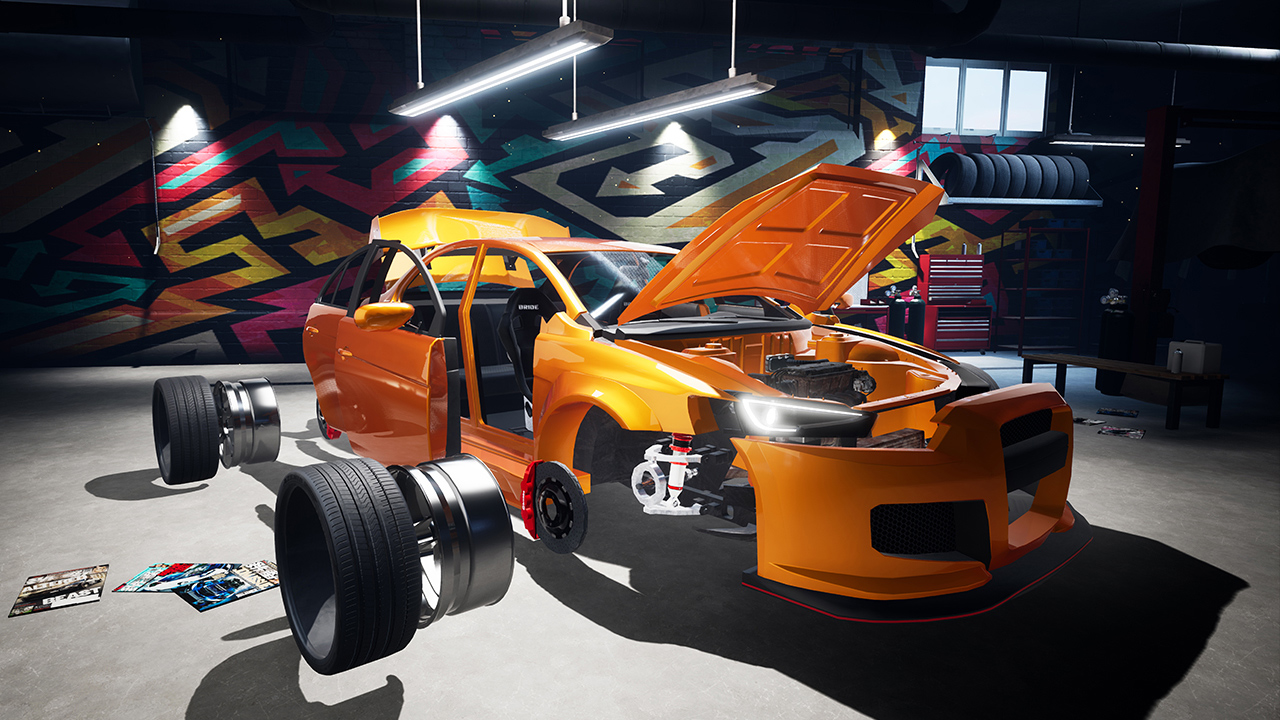 Footage από το Super Street: Racer