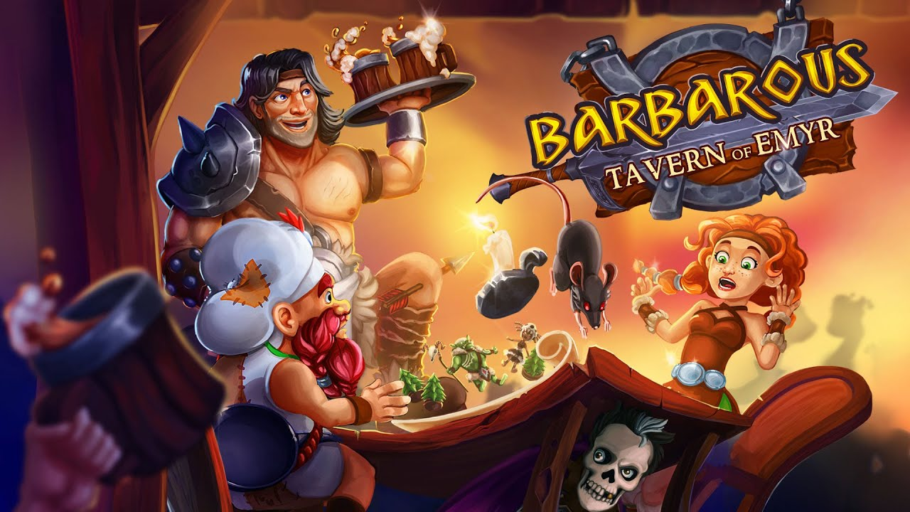 'Barbarous: Tavern of Emyr' announced for Switch from QubicGames, releasing December 25th