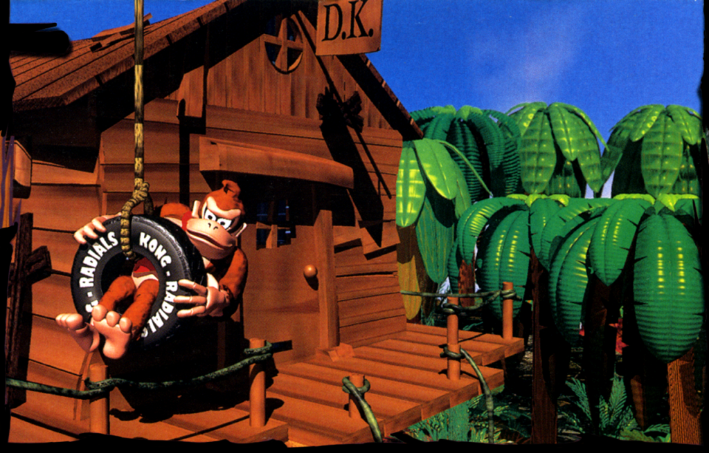 Entire Donkey Kong Country soundtrack restored to original studio quality